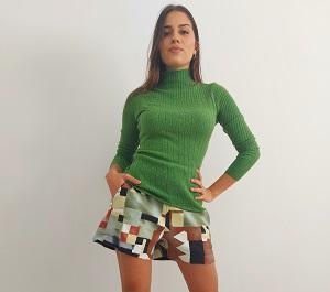 Shorts geométricos